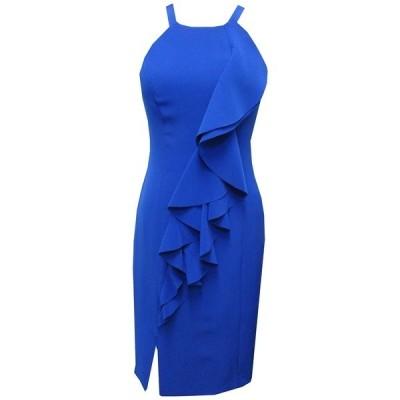 ヴィンスカムート ワンピース トップス レディース Halter Bodycon Dress Cobalt