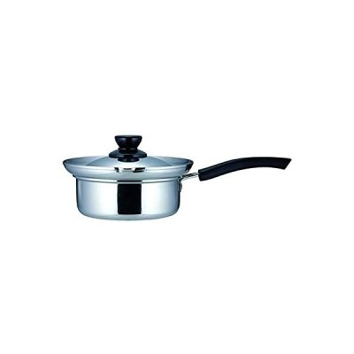 カクセー 片手鍋 ステンレス 16cm S-Class ステンレス製 吹きこぼれにくい湯切り鍋 SCL-05