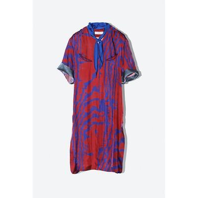 <TOGA(Women)/トーガ> Inner print dress 21/red【三越伊勢丹/公式】
