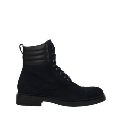 MICHEL SIMON ショートブーツ  メンズファッション  メンズシューズ、紳士靴  ブーツ  その他ブーツ ダークブルー