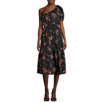レベッカテイラー レディース ワンピース Floral Knee-Length Dress