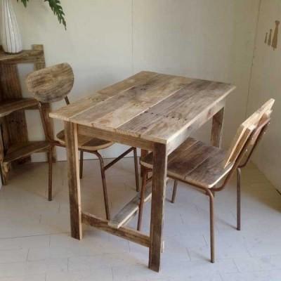 テーブル ダイニングテーブル デスク 木製 リサイクルウッド オイルフィニッシュ ワーキングテーブル