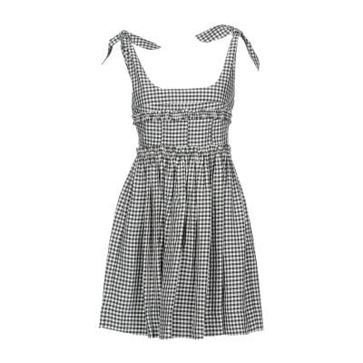 ALEXACHUNG ミニワンピース&ドレス グレー 14 100% レーヨン ミニワンピース&ドレス