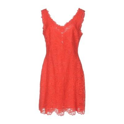 ブルマリン BLUMARINE ミニワンピース&ドレス レッド 42 コットン 95% / ポリエステル 5% ミニワンピース&ドレス