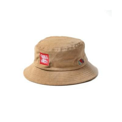 MAISON mou / 【FRUIT OF THE LOOM/フルーツオブザルーム】 FTL x ANNA CORDUROY BUCKET HAT/アンナマガジンコラボコーデュロイハット WOMEN 帽子 > ハット