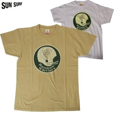 SUN SURF/サンサーフ  UNIVERSITY OF HAWAII S/S TSHIRT 「WARRIORS HELMET」 半袖Tシャツ 2カラー Mサイズ