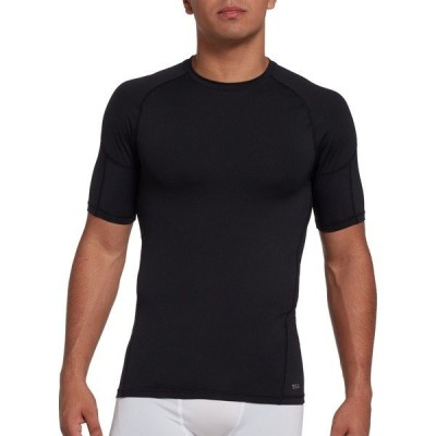 DSG シャツ トップス メンズ DSG Men's Compression Crew T-Shirt PureBlack