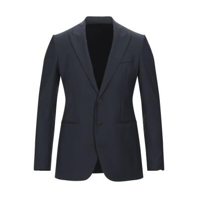マウロ グリフォーニ MAURO GRIFONI テーラードジャケット ダークブルー 46 ウール 100% テーラードジャケット