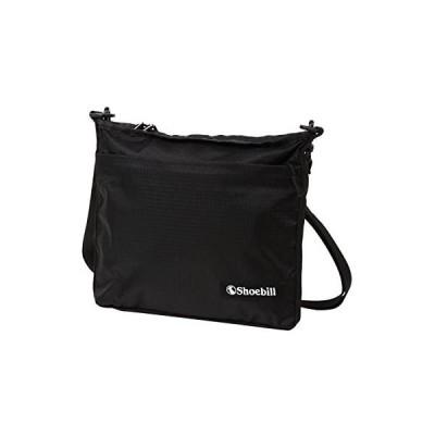 Shoebill サコッシュ バッグ ショルダーバッグ ナイロン 防水 登山 アウトドア 軽量 (ブラック)