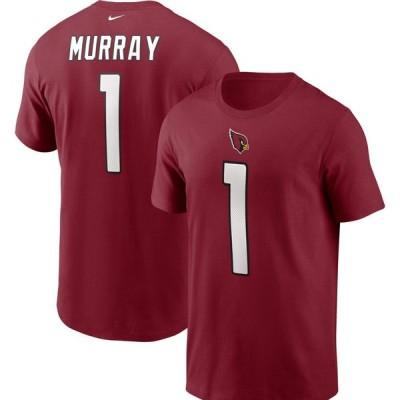 ナイキ Nike メンズ Tシャツ トップス Arizona Cardinals Legend Kyler Murray #1 Red T-Shirt
