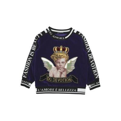 ドルチェ & ガッバーナ DOLCE & GABBANA スウェットシャツ パープル 24 コットン 100% / ポリエステル / レーヨン スウ
