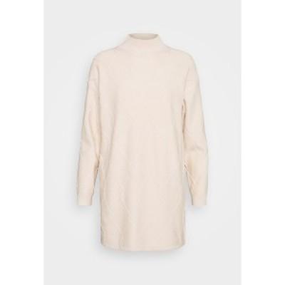 ファッションモンキー レディース ワンピース トップス FRESNA DRESS - Jumper dress - cream cream