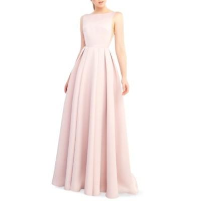 イエナフォアマックドゥガル  レディース ワンピース トップス High Neck Open Back Pleated A-Line Dress ROSE PINK