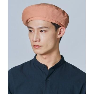 OVERRIDE / 【OVERRIDE】CREPE BERET / 【オーバーライド】クレープ ベレー MEN 帽子 > ハンチング/ベレー帽