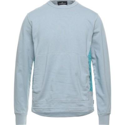 ストーンアイランド STONE ISLAND メンズ スウェット・トレーナー トップス Sweatshirt Sky blue