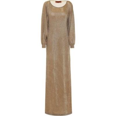 ミッソーニ Missoni レディース パーティードレス ワンピース・ドレス Metallic Silk Gown