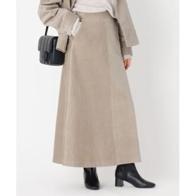 OPAQUE.CLIP / 【WEB限定サイズ】ネオサーモ コーデュロイフレアスカート WOMEN スカート > スカート