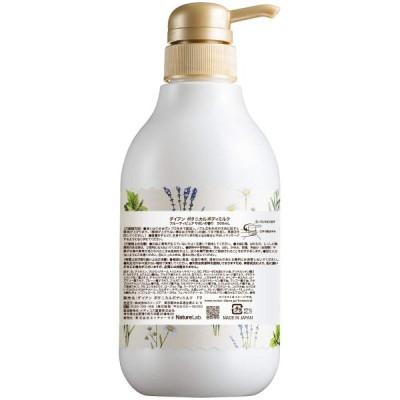 モイスト ダイアン ボタニカル ボディミルク フルーティ ピュアサボン 大容量 500ml