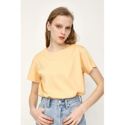 【スライ】 MERCERIZE BASIC Tシャツ レディース イエロー FREE SLY
