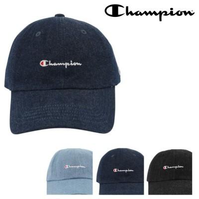 チャンピオン キャップ メンズ レディース 381-0136 Champion | 帽子 デニム ローキャップ