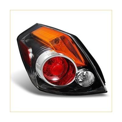 Fits 2007-2012 Altima 4-Door Sedan Chrome Tail Light Tail Lamp Brake Lamp Driver Left Side Assembly 並行輸入品