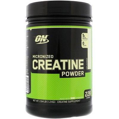 Optimum Nutrition?微粒クレアチンパウダー、無香料 2.64 lb (1.2 kg)