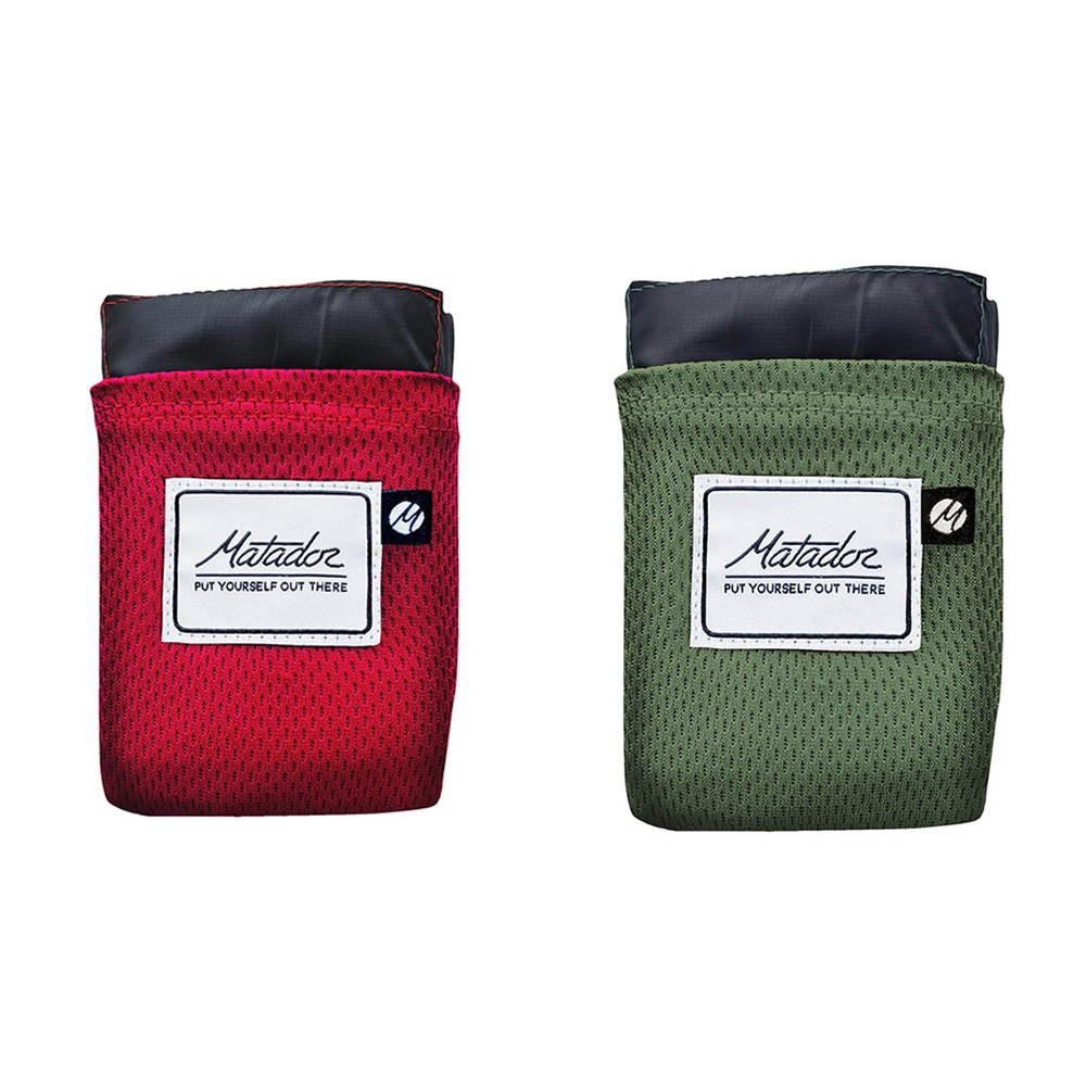 Matador 鬥牛士 Pocket Blanket口袋型折疊收納沙灘墊/露營防潮墊/野餐墊 (4色可選)【現貨免運】