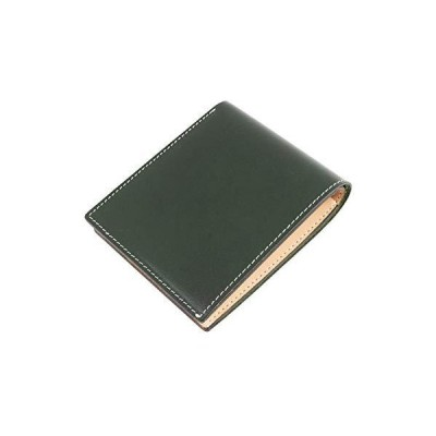 [Dom Teporna Italy] 二つ折り財布 メンズ 全て本革のオールレザー仕様 イタリアンレザー 内 ヌメ革 ボックス型 小銭入れ 大容量