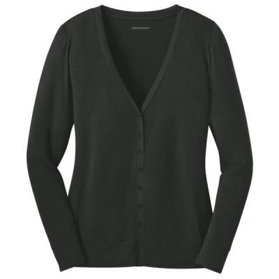 レディース 衣類 トップス Port Authority Women's 9-Button Cardigan ブラウス&シャツ