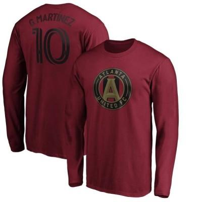 ユニセックス スポーツリーグ サッカー Gonzalo Martinez Atlanta United FC Fanatics Branded Authentic Stack Player Name & Number Long S