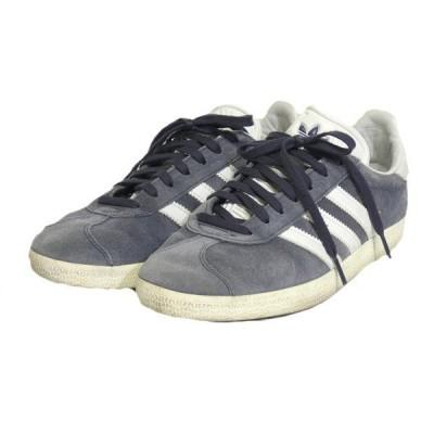adidas 「GAZELLE」 ローカットスニーカー ネイビー サイズ:25cm (栄店) 200214