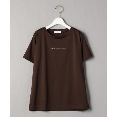 【ビューティ&ユース ユナイテッドアローズ】 BY コットンプリントTシャツ2 レディース DKBROWN S BEAUTY&YOUTH UNITED ARROWS