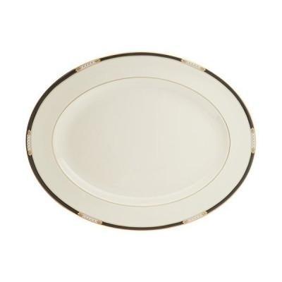 (Oval Platter, 41cm, Lenox Hancock Fine Dinnerware) - Lenox Hancock Gold Ba