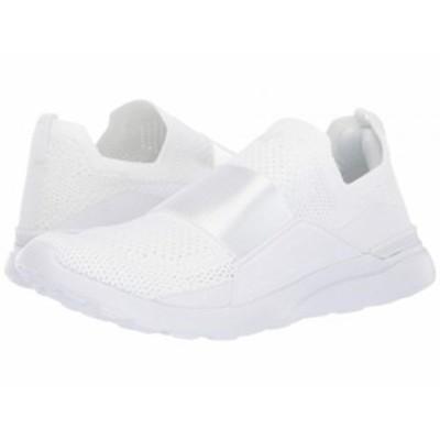 Athletic Propulsion Labs (APL) レディース 女性用 シューズ 靴 スニーカー 運動靴 Techloom Bliss White/White【送料無料】