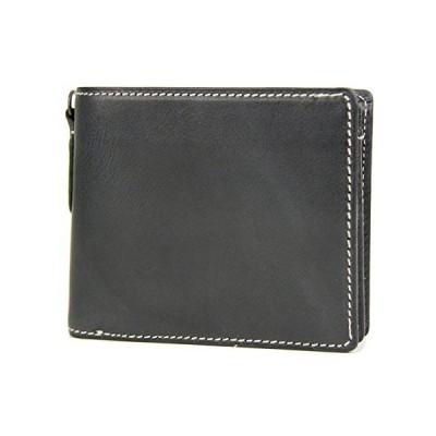 [コルボ] CORBO. 小銭入れ付き二つ折り財布 8LO-9931 ブラック CO-8LO-9931-15