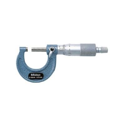 ミツトヨ 外側マイクロメーター 測定範囲25〜50mm M110−50 1個 (メーカー直送)
