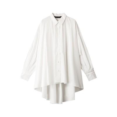 mizuiro ind ミズイロインド ワイドシャツ レディース オフホワイト F