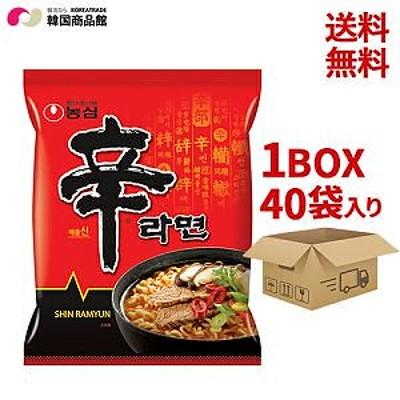 最安値挑戦!辛ラーメン、ギス麺、ジャガイモ麺、ジャパゲティ、ノグリ(1BOX40個入り) 韓国ラーメン 乾麺 インスタント SALE継続中!