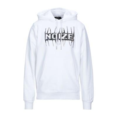ディーゼル DIESEL スウェットシャツ ホワイト XL コットン 100% / ポリウレタン スウェットシャツ