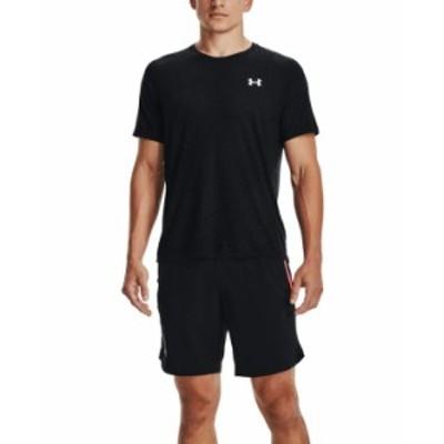 アンダーアーマー メンズ Tシャツ トップス Men's Streaker Runclipse T-Shirt Black