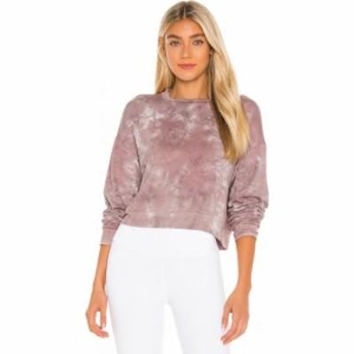 ビヨンドヨガ Beyond Yoga レディース スウェット・トレーナー トップス Garment Dye Day to Day Pullover Rose Cloud Dye
