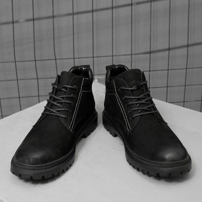 通勤 滑り止め 高品質秋冬新作ビジネスシューズ 紳士靴 メンズシューズ コンフォートシューズ レースアップ 軽量 本革靴 カジュアル 通気性