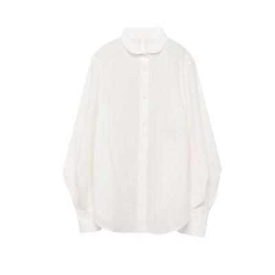 【アルアバイル】 MANTECOパフスリーブシャツ レディース オフホワイト 02 allureville