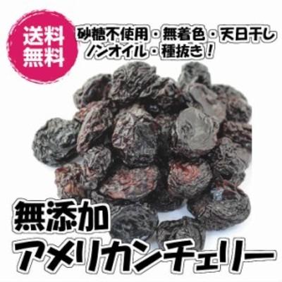 無添加アメリカンチェリー 500gドライフルーツ 種抜き アメリカ産 砂糖不使用 送料無料  チャック袋 (アメチェ500g)フォンダンウォー