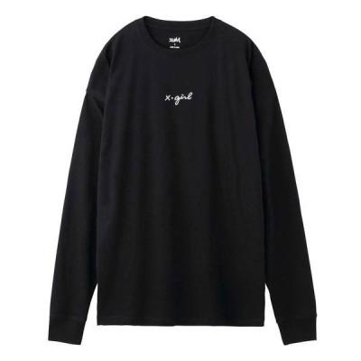tシャツ Tシャツ CURSIVE LOGO L/S TEE