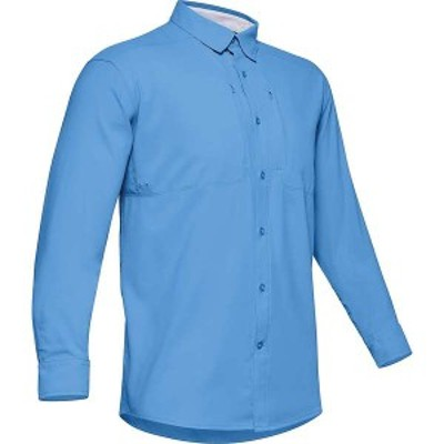 アンダーアーマー メンズ シャツ トップス Under Armour Men's Tide Chaser 2.0 LS Shirt Carolina Blue / Carolina Blue