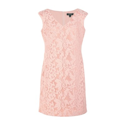 LAUREN RALPH LAUREN ミニワンピース&ドレス ローズピンク 2 ポリエステル 100% ミニワンピース&ドレス