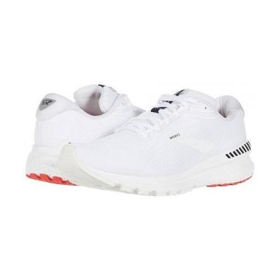 Brooks ブルックス メンズ 男性用 シューズ 靴 スニーカー 運動靴 Adrenaline GTS 20 - White/White/Black