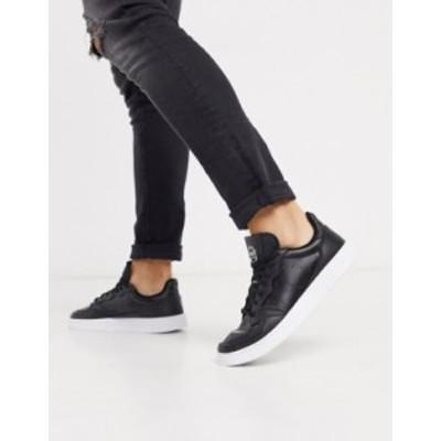 アディダス メンズ スニーカー シューズ adidas Originals supercourt sneakers in black Bk1 - black 1