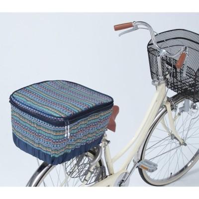 川住製作所 モダンアートシリーズ 後カゴカバー 2段式 K-NB6 ネイティブブルー